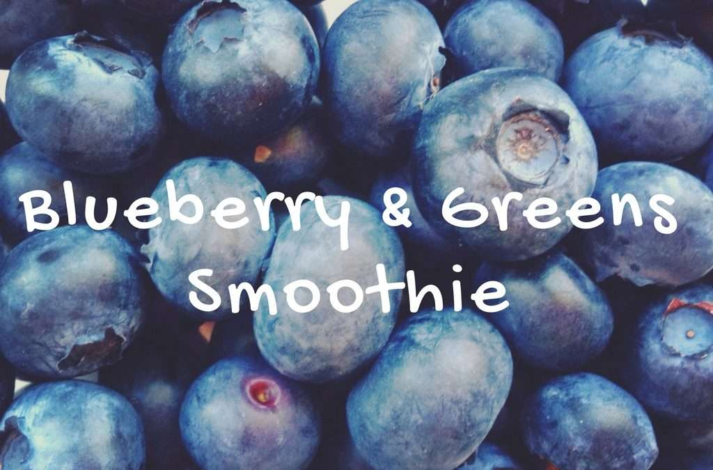 Blueberry & Greens Smoothie